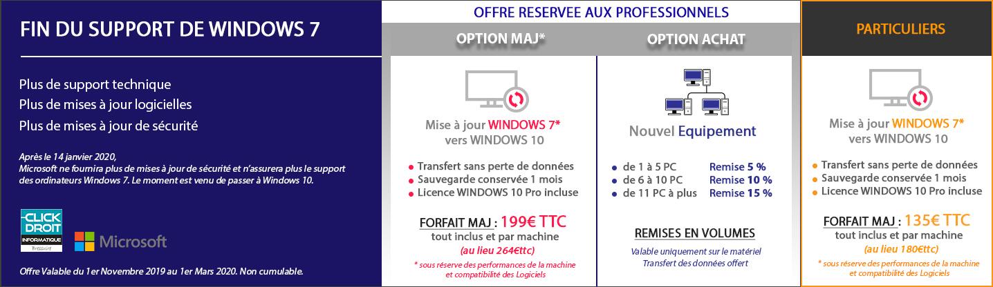 fin windows 7 Bressuire
